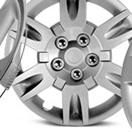 Dorman® - Gray Wheel Cover