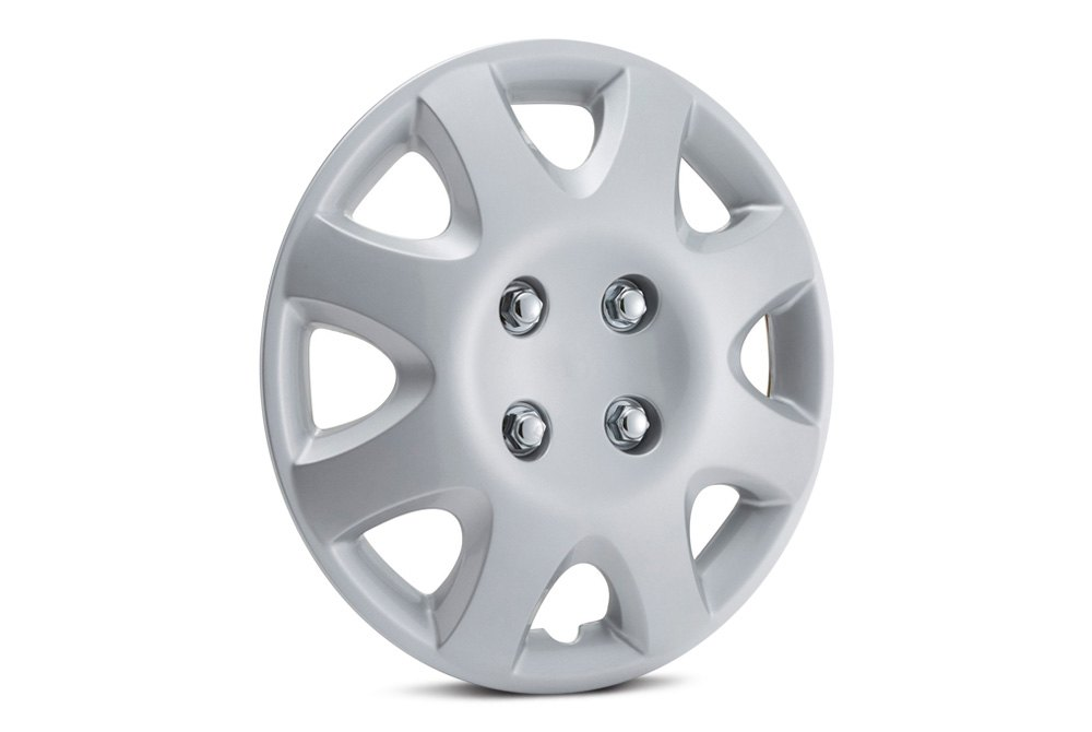 Wheel Cover Modified, Wheel Simulator Set  C2 B7 8 Spokes Silver Wheel Covers, Wheel Cover Modified