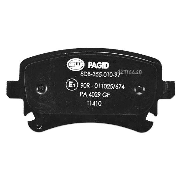 For Audi A6 2006-2008 Pagid 355010971 Semi-Metallic Rear