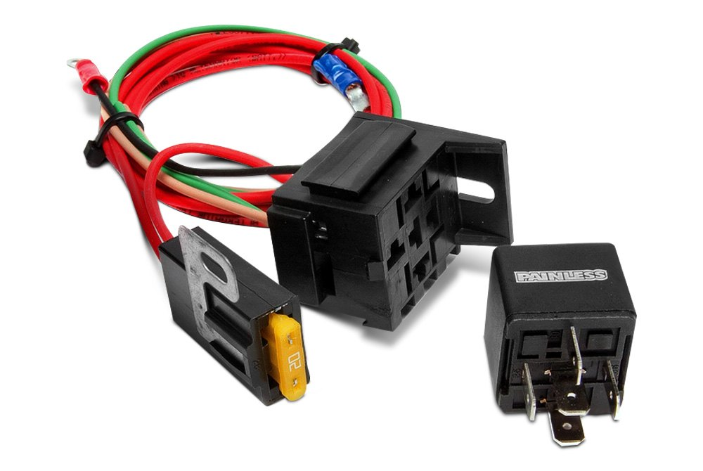 high beam headlight relay kit painless performance™ wiring harnesses, switches & kits carid com  at readyjetset.co