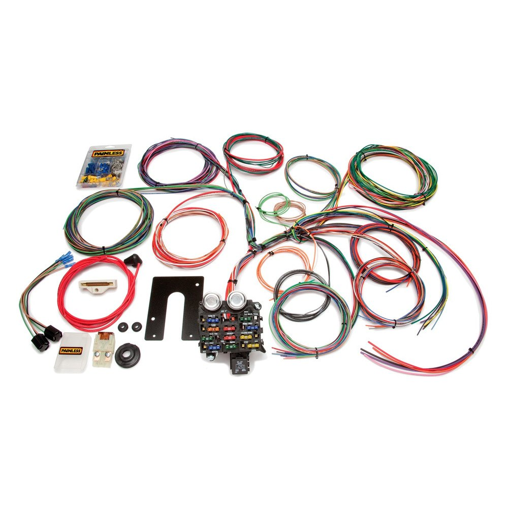 Cj Jeep Wiring Harness Another Blog About Diagram Painless Performance U00ae 10105 22 Circuit Harnesses Cj7 Wire