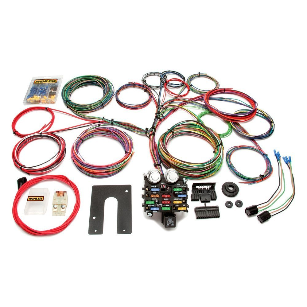 Painless Performance Classic Customizable Chassis Harness Wiring And 21 Circuit Harnesspainless