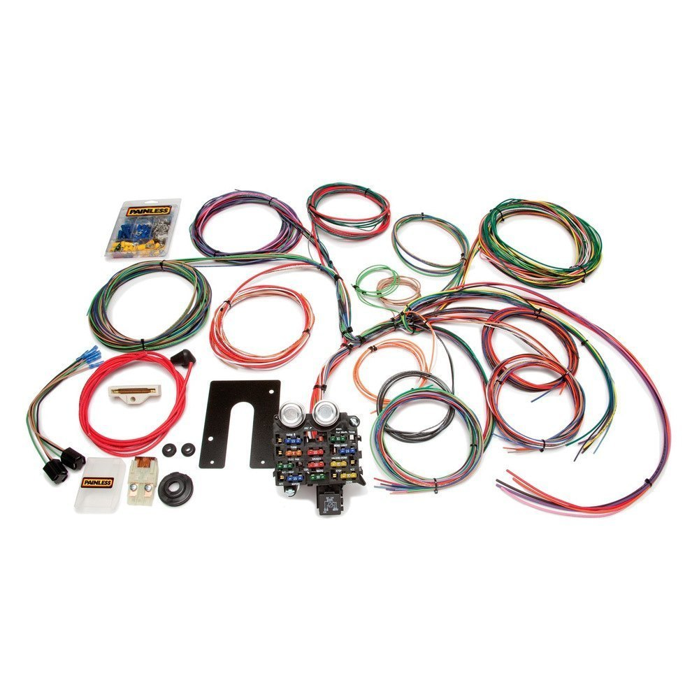 Painless Wiring Harness Jeep 4 0 : Painless performance classic customizable harness