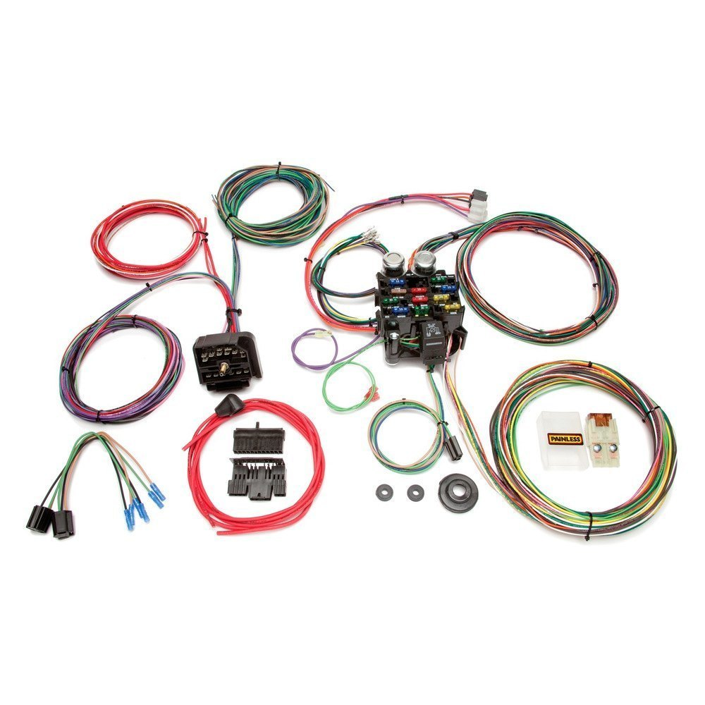 Painless Wiring Harness 4 6 Free Diagram For You Mustang Performance U00ae 10106 Classic Customizable 55 Chevy Truck
