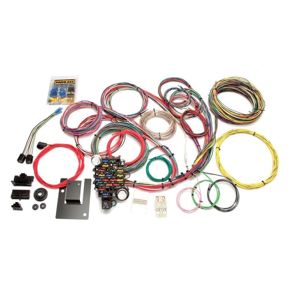 Painless Performance 20106 28 Circuit Classic Plus Chassis Harness Wiring And