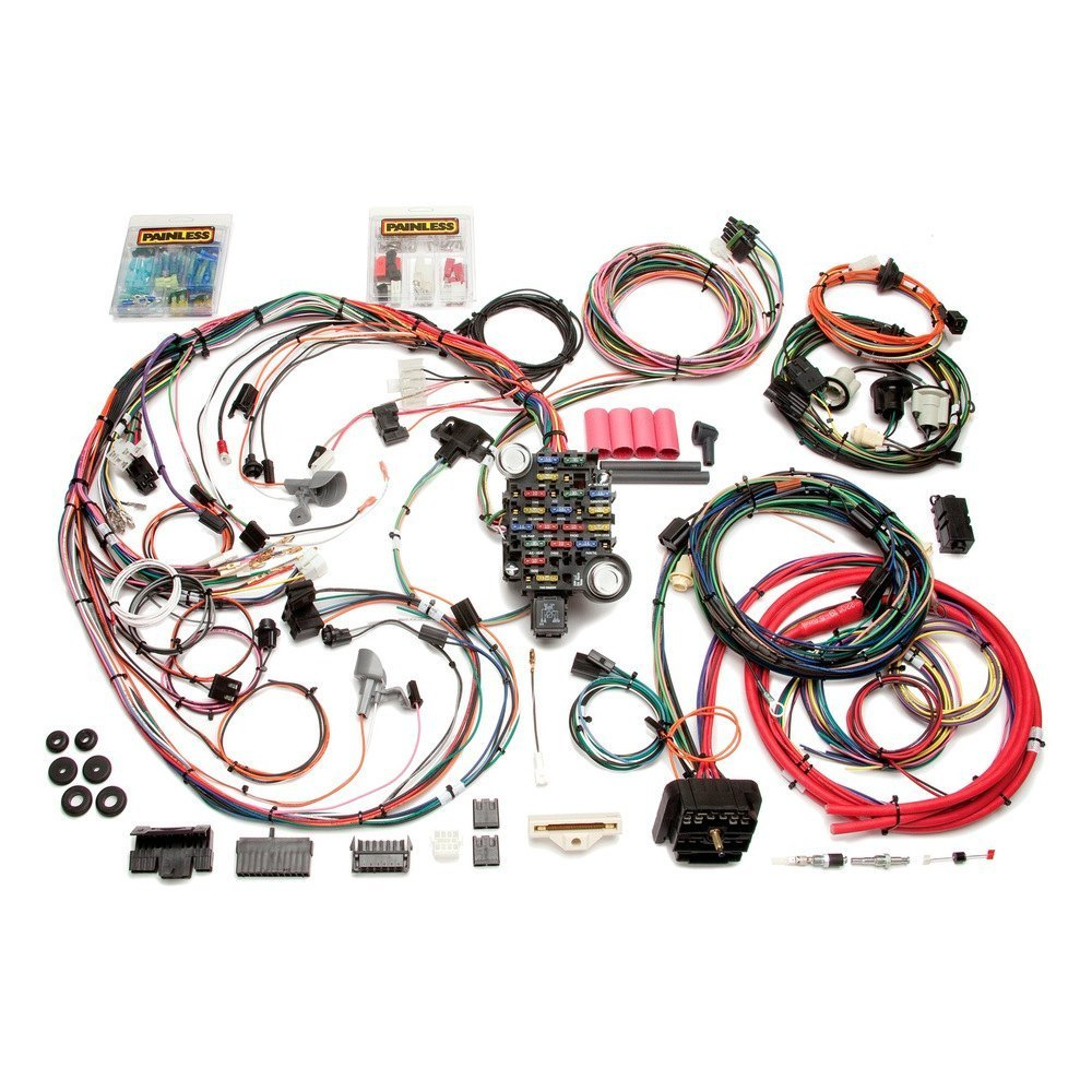 Painless Wiring Harness Jeep 4 0 : Painless performance direct fit harness
