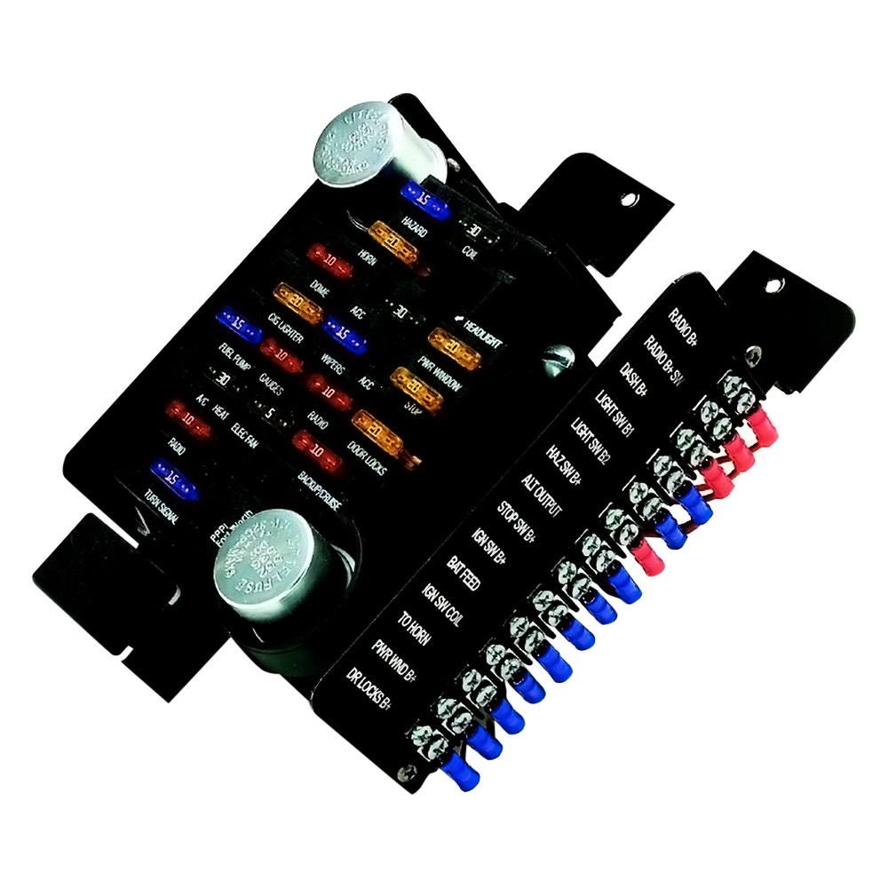 ... BlockPainless Performance® - Style Pre-Wired 20 Circuits Fuse Block