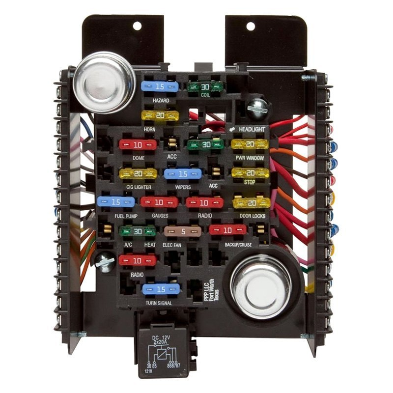 30003 painless performance� style pre wired fuse block cucv fuse diagram at love-stories.co