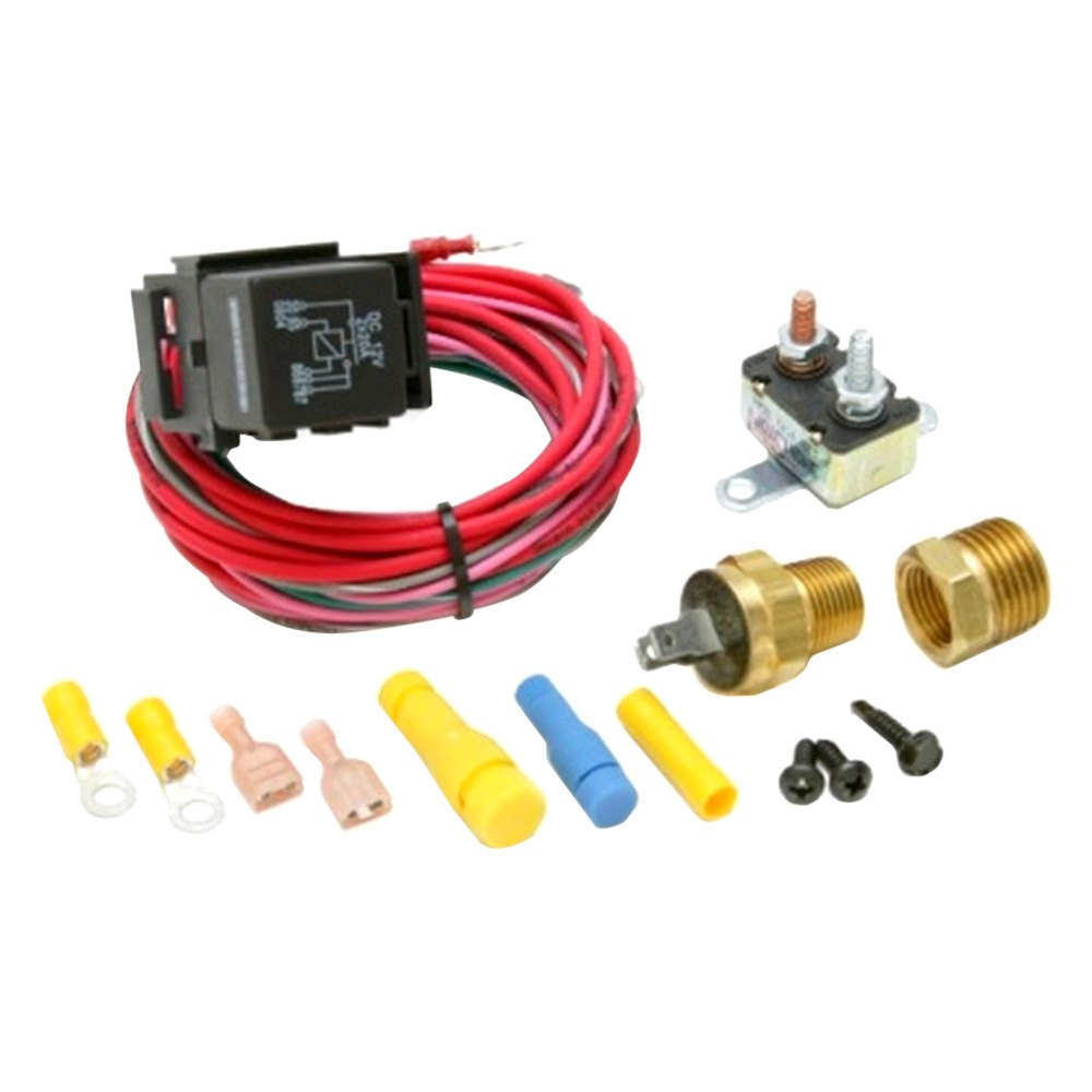 Painless Performance Dual Activation Electric Fan Relay Kit - Electric fan relay kit