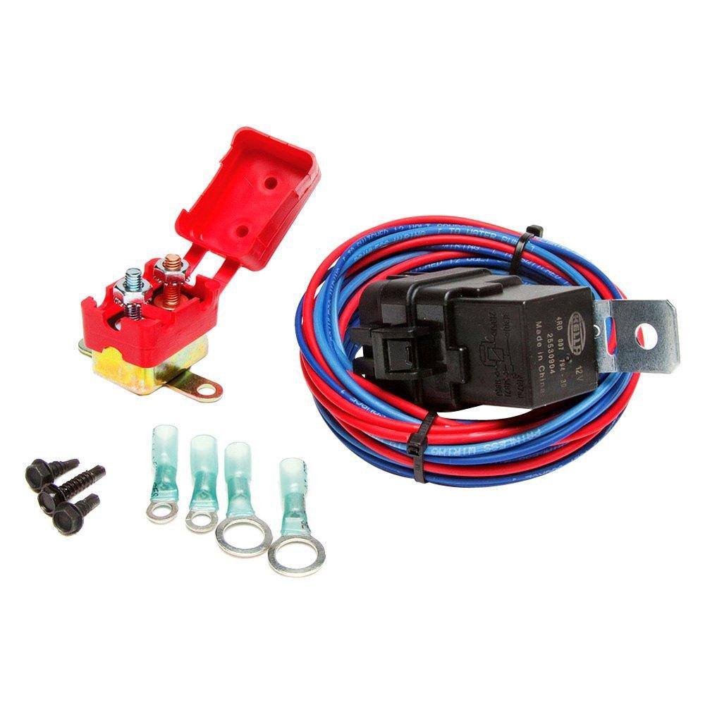 Painless Performance 30132 Weatherproof Electric Wiring Relay Kit Water Pump