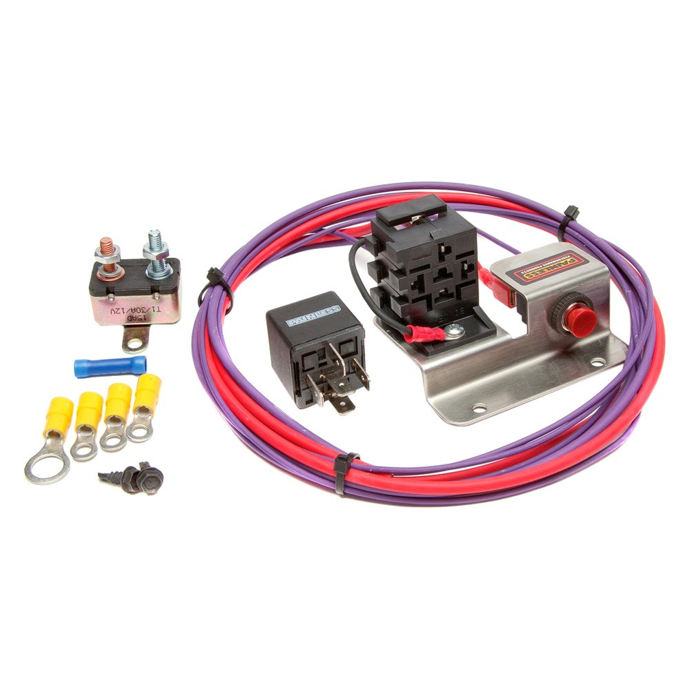 Painless Auto Wiring Performance 30201 Hot Shot Kit Plus With Engine Bump Switch Relay
