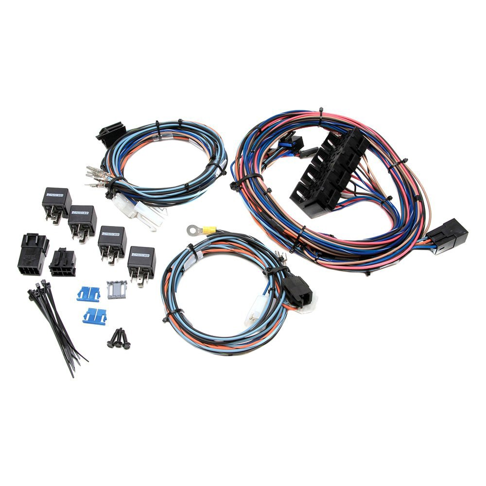 painless performance 174 30715 chevy camaro 1970 power window and lock harness