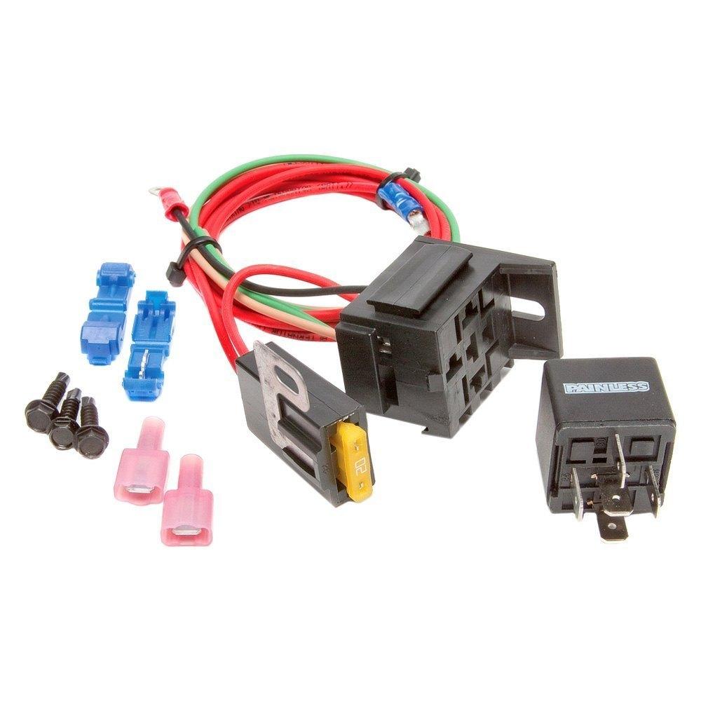 Painless Performance High Beam Headlight Relay Kit Wiring