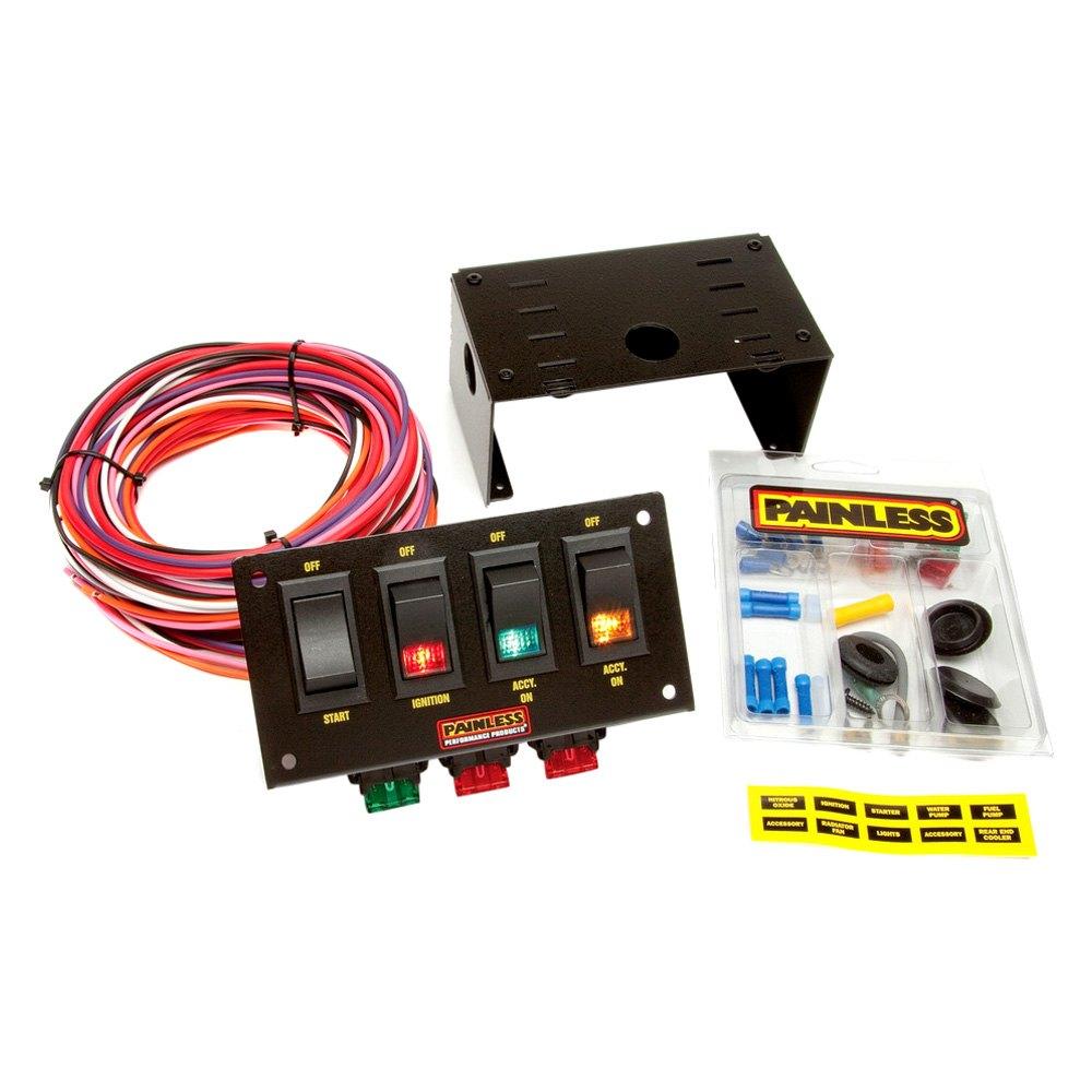 Painless Wiring Harness : Street rod column gm wiring harness painless