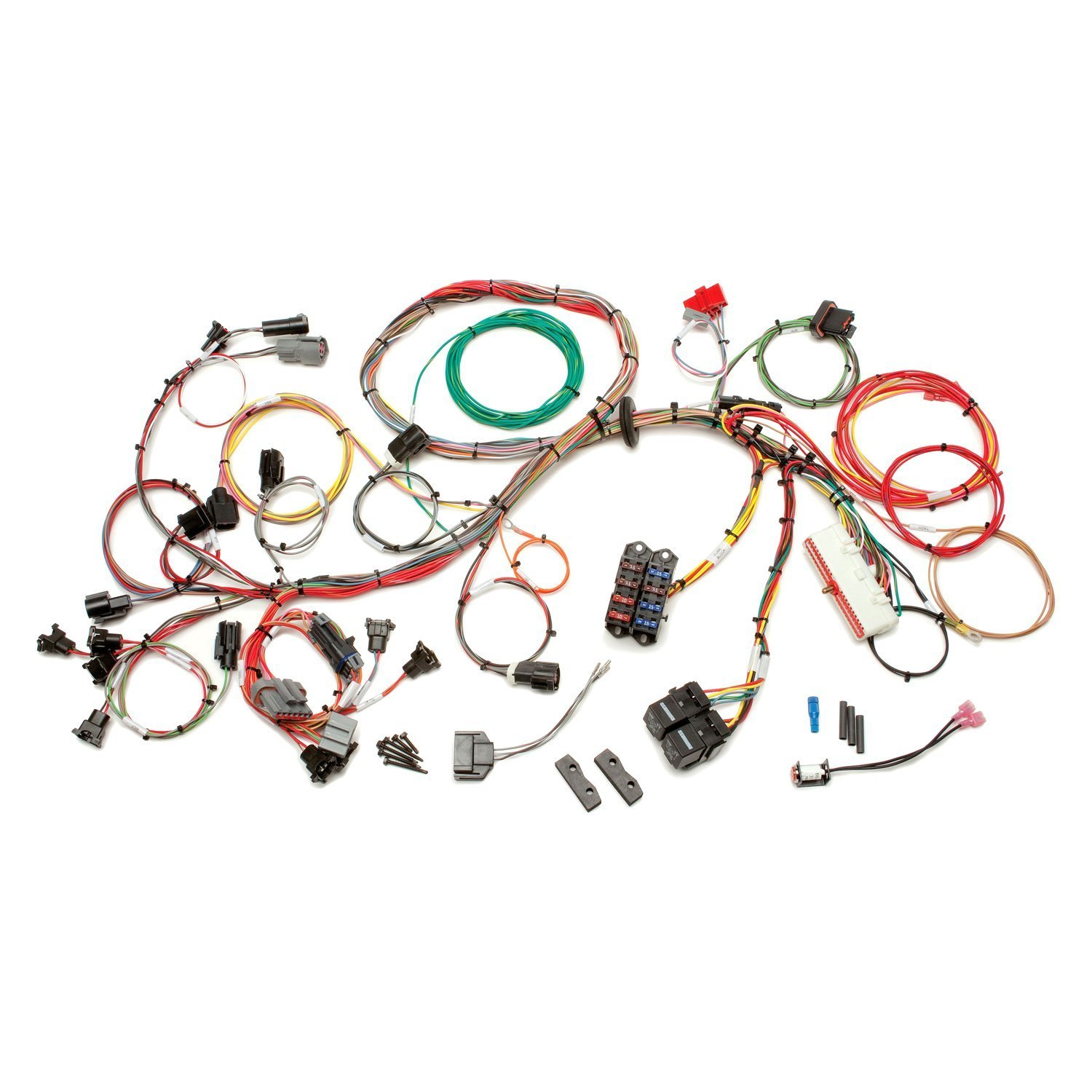 S10 Wiring Harness Painless Wire Data Schema 1993 Mustang Chassi Performance U00ae 60511 Fuel Injection Diagram 2001 Chevy