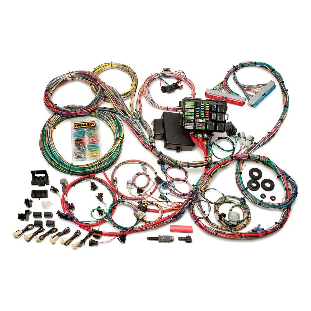 Painless Performance 60608 Fuel Injection Harness Wiring