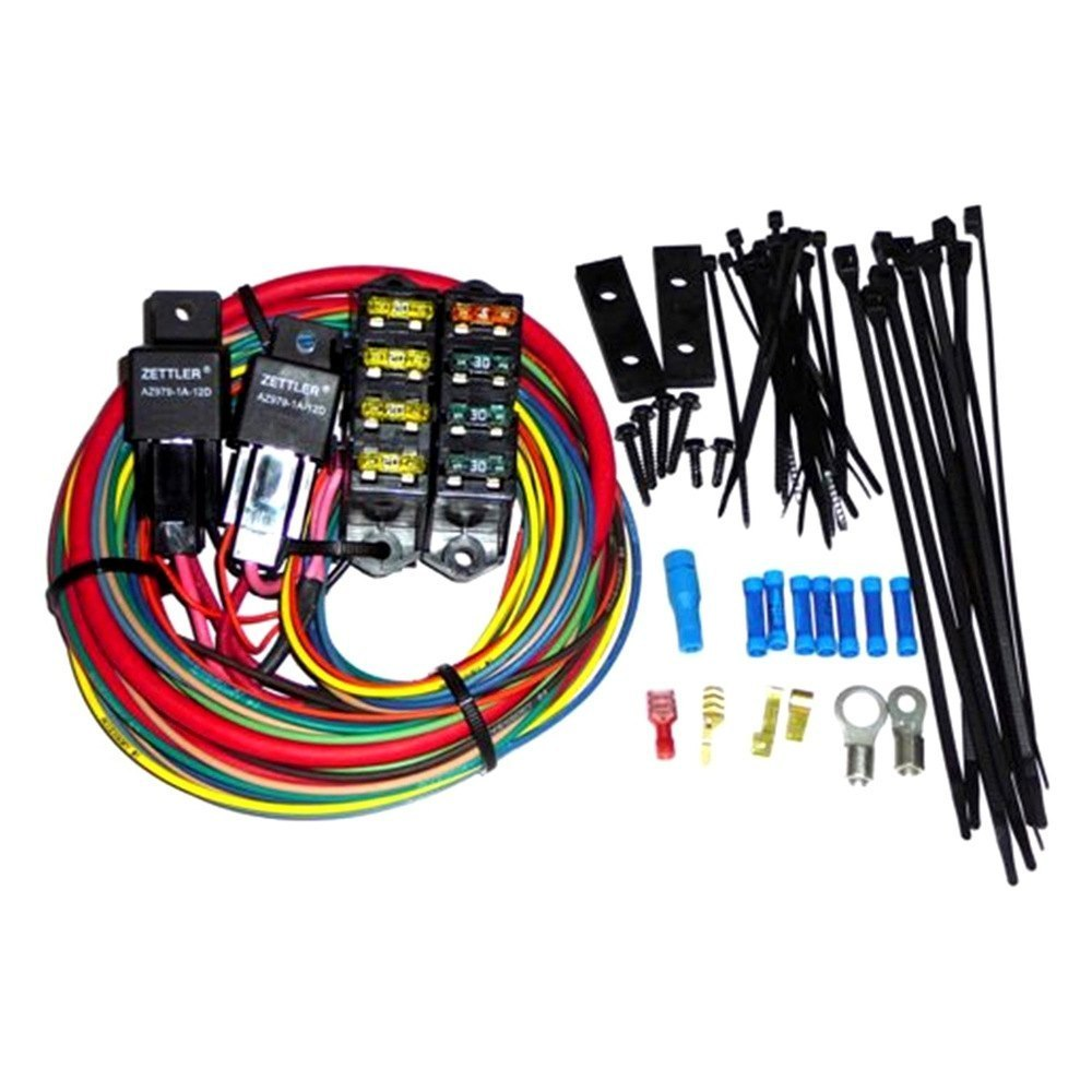 Painless Fuse Block Wiring Library 70207 Performance Cirkit Boss Heavy Duty Auxiliary 7 Circuits
