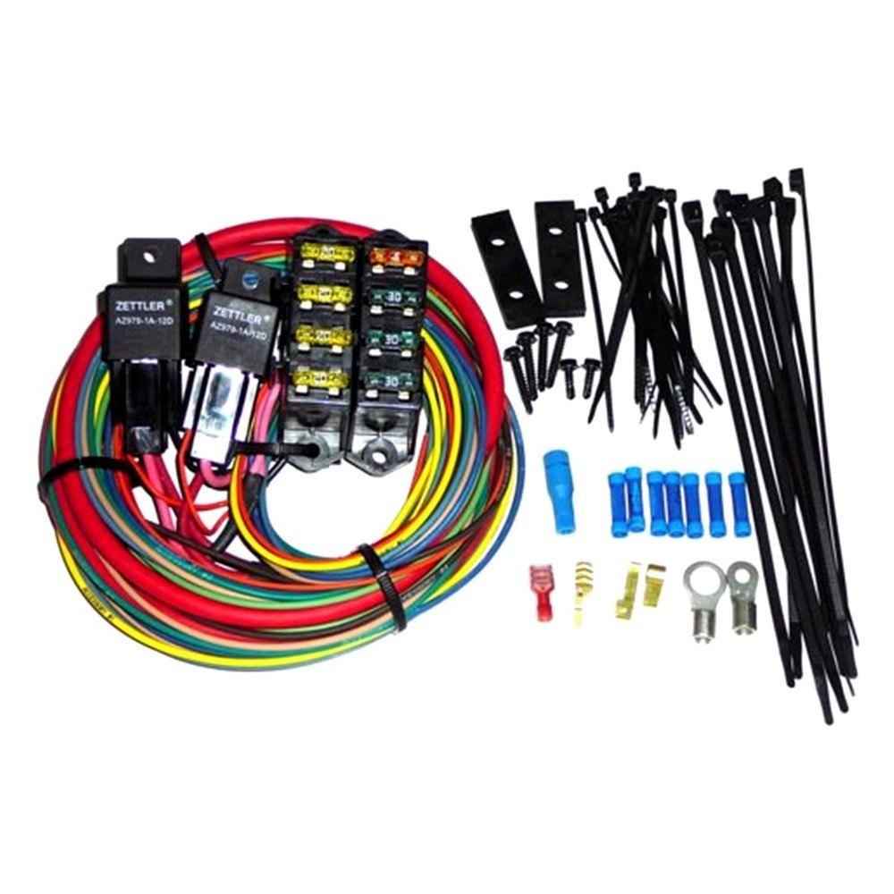 Painless Performance® - CirKit Boss Heavy Duty Auxiliary 7 Circuits Fuse  Block