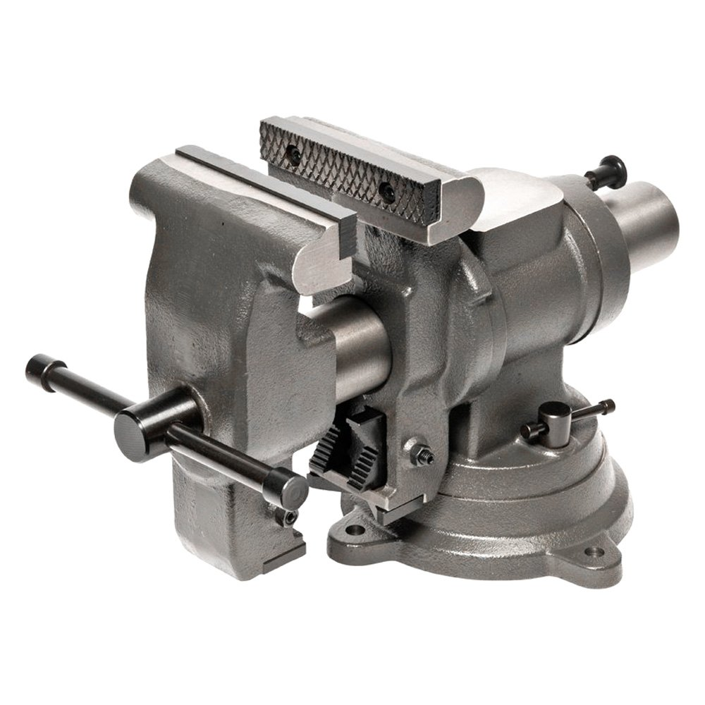 """What Is A Bench Vise Used For: 5"""" MJ50 Multi-Jaw Bench Vise"""