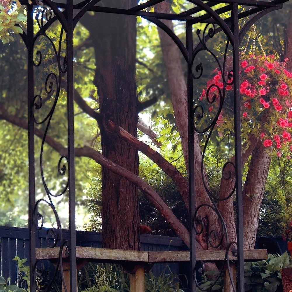 Panacea 174 89087 Garden Arbor W Vines Black Recreationid Com