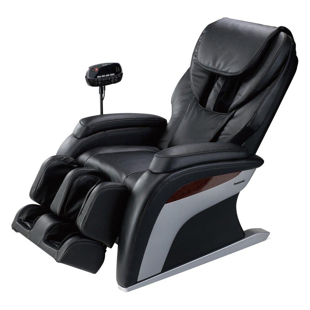 Panasonic epma10ku black chinese spinal technique massage chair ku - Chaise massage electrique ...