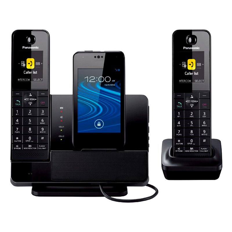 panasonic kxprd262b duo cordless phone. Black Bedroom Furniture Sets. Home Design Ideas