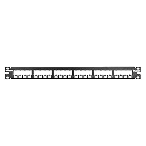 panduit 174 cp24bly 24 port modular patch panel