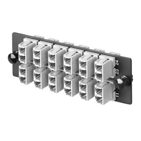 panduit 174 fap12weidlc duplex multimode fiber adapter panel