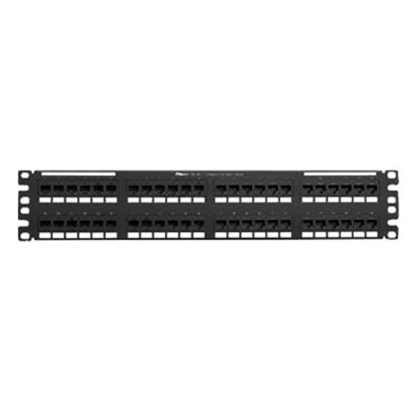 panduit 174 nk5eppg48y 48 port cat5e network patch panel