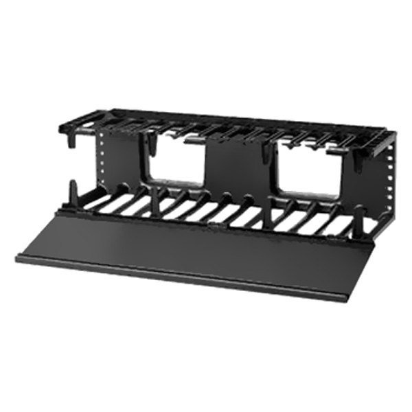 panduit 174 nmf3 19 quot horizontal cable manager