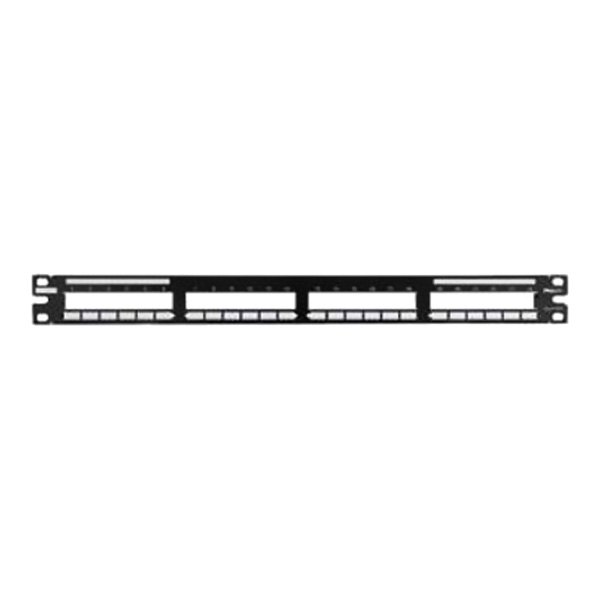 panduit 174 qpp24bl modular patch panel