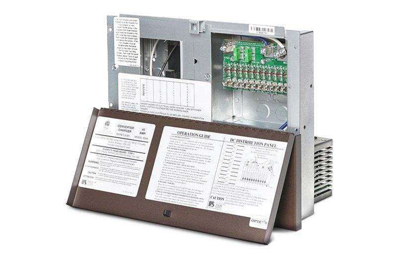 parallax™ rv power converters, circuit breakers, fuse panels magnetek power converter 30 amp parallax® 8300 series power center converter