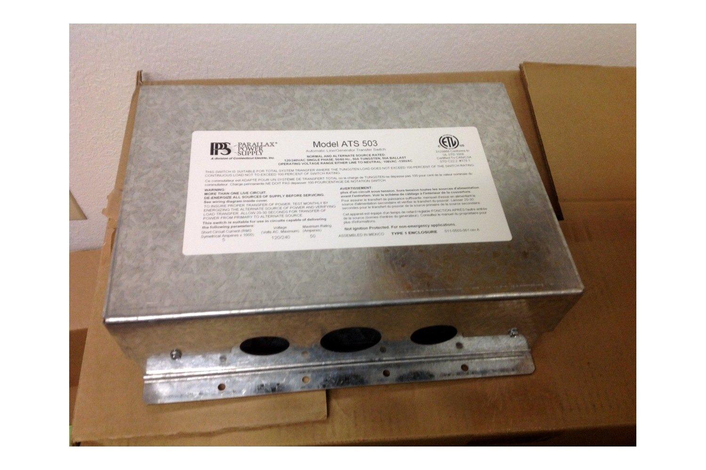Parallax® ATS503 - Automatic Transfer Switch 50 Amp 120V