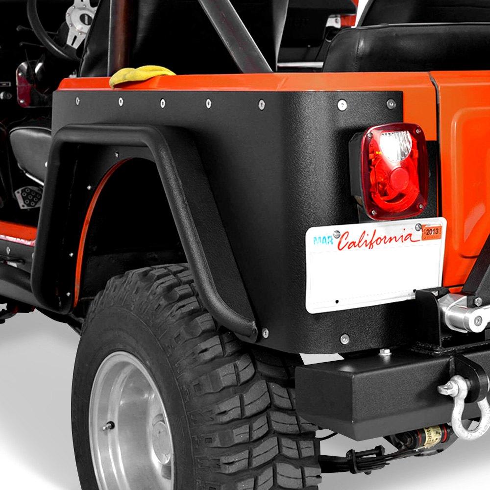 Jeep Wrangler 2001 Off Road™ Satin Black Fenders