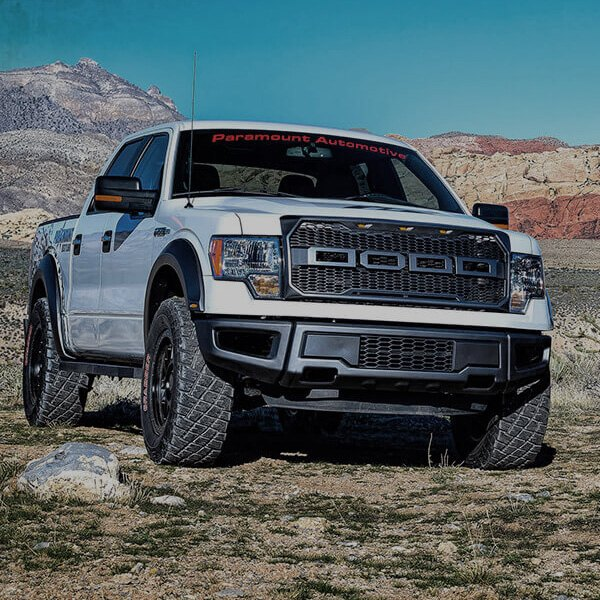 automotive raptor style black packaged main grille