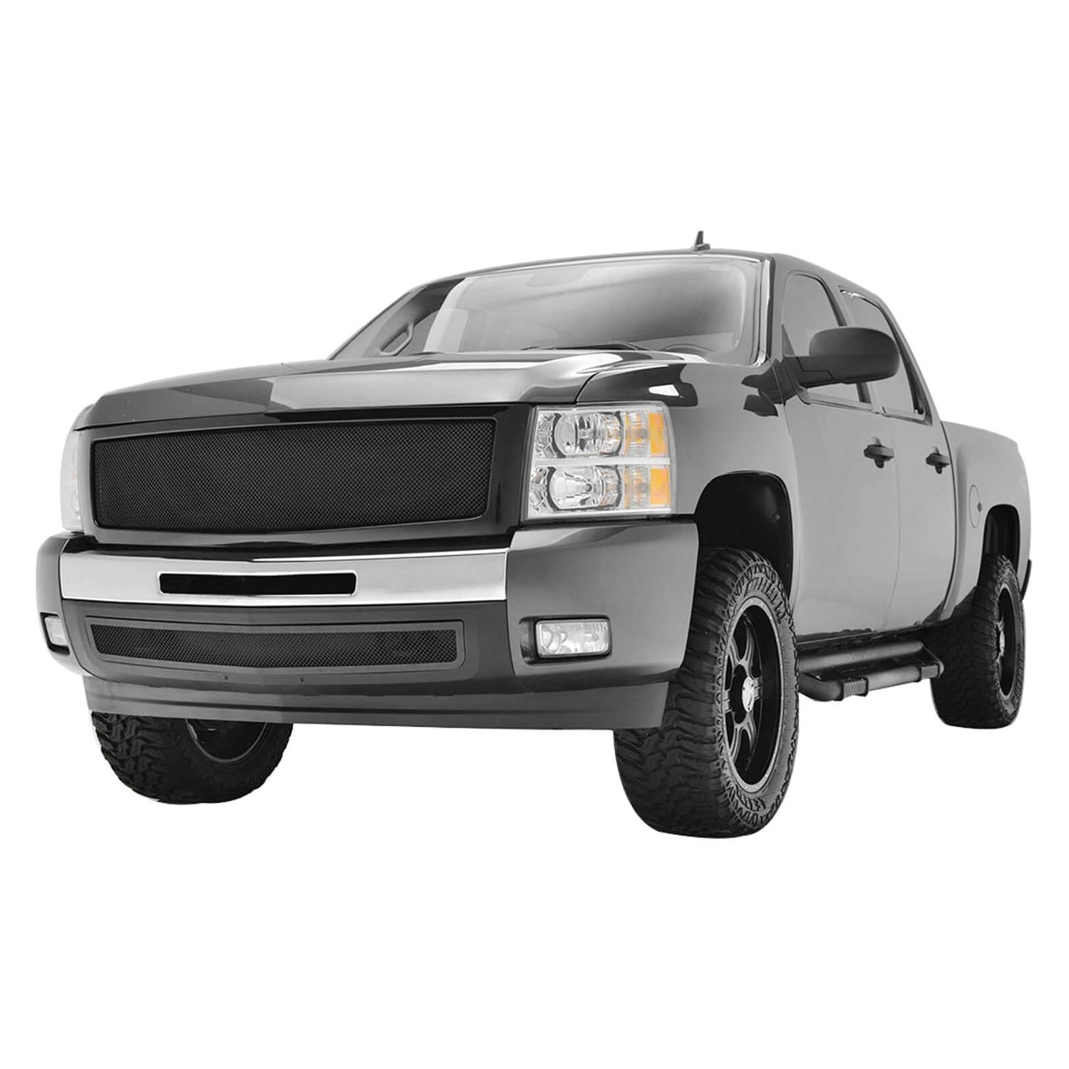 chevy silverado tailgate cap autoanything. Black Bedroom Furniture Sets. Home Design Ideas