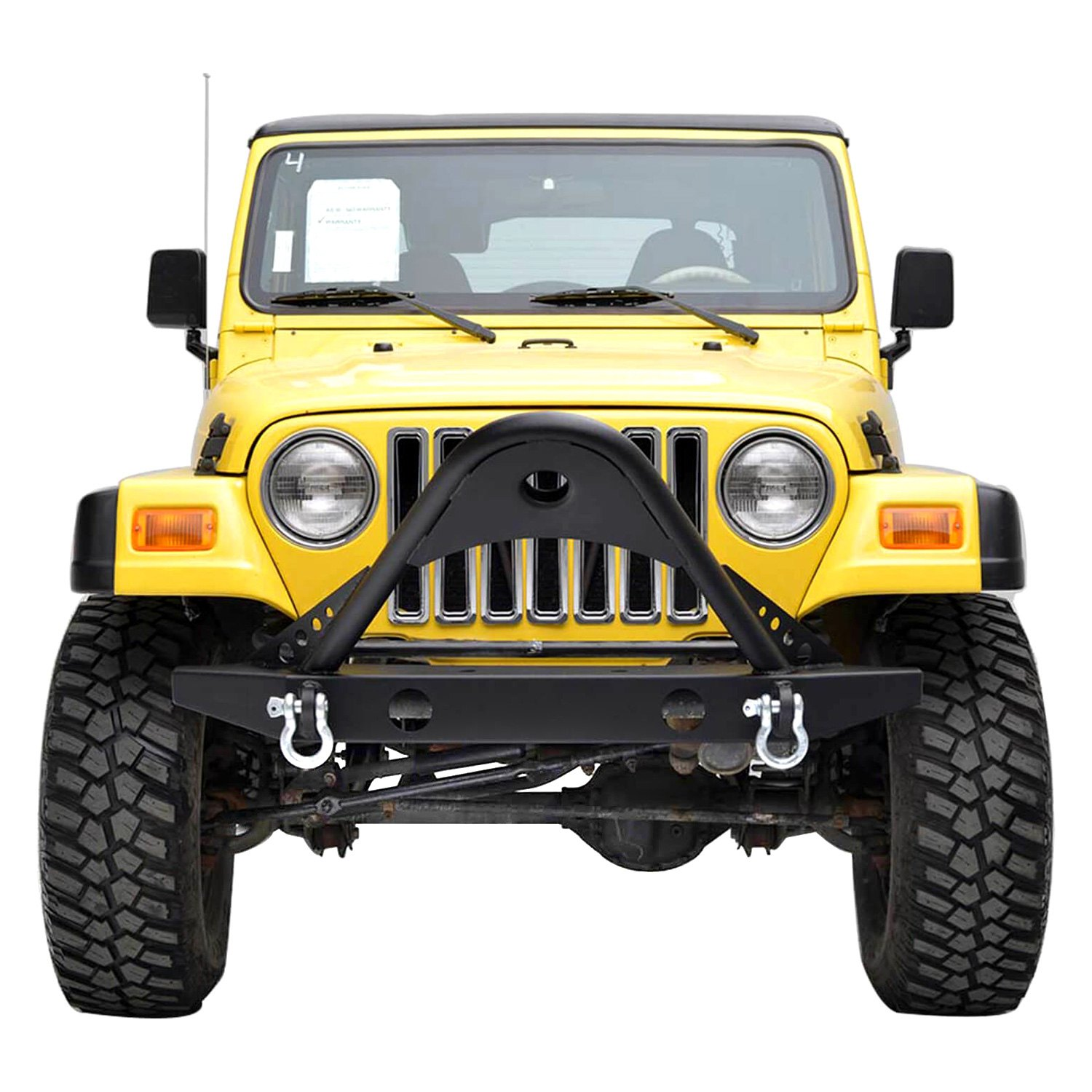 Service Manual [How To Take Bumper Off 1999 Jeep Wrangler