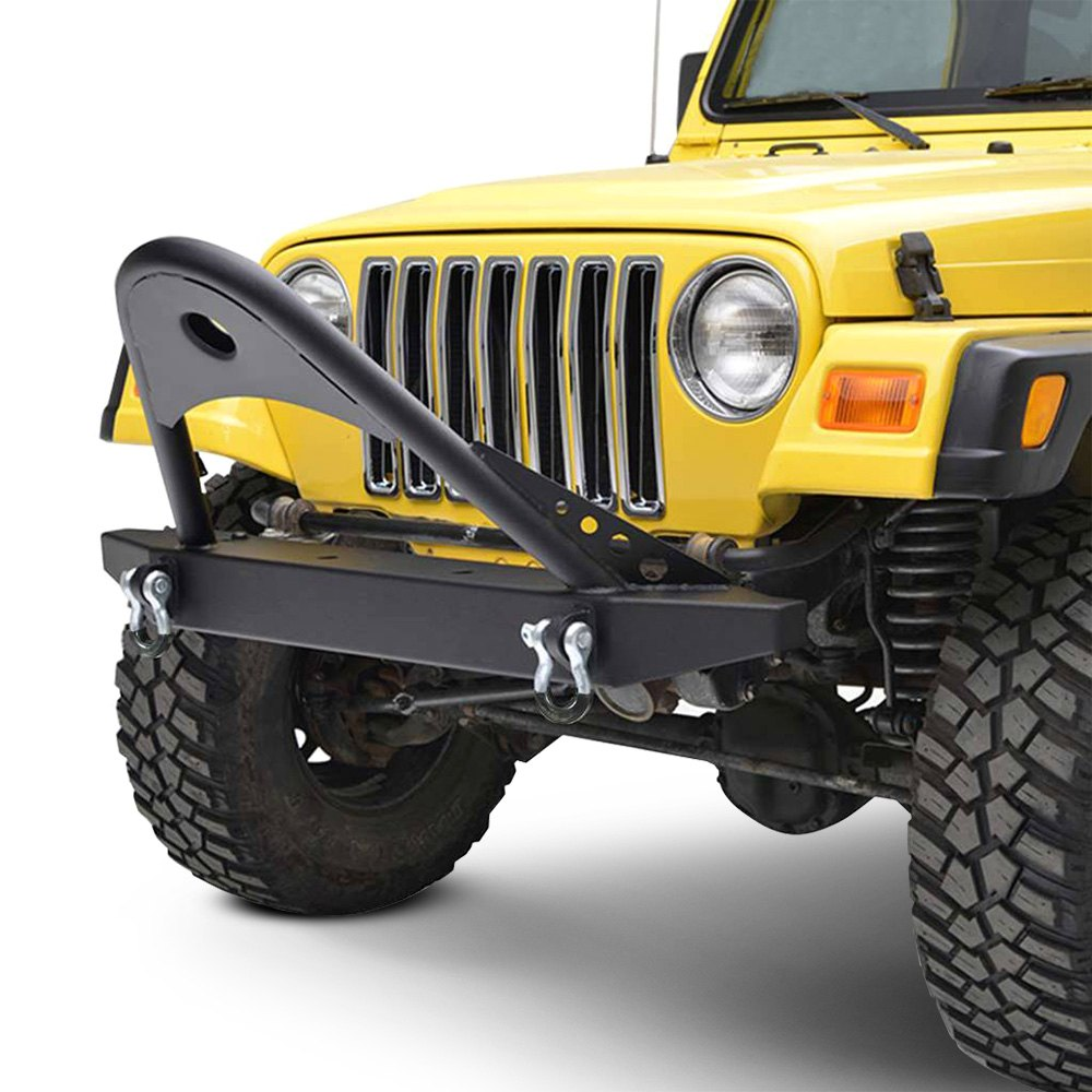 Jeep Tj Front Bumper : Paramount jeep wrangler off road™ classic stubby