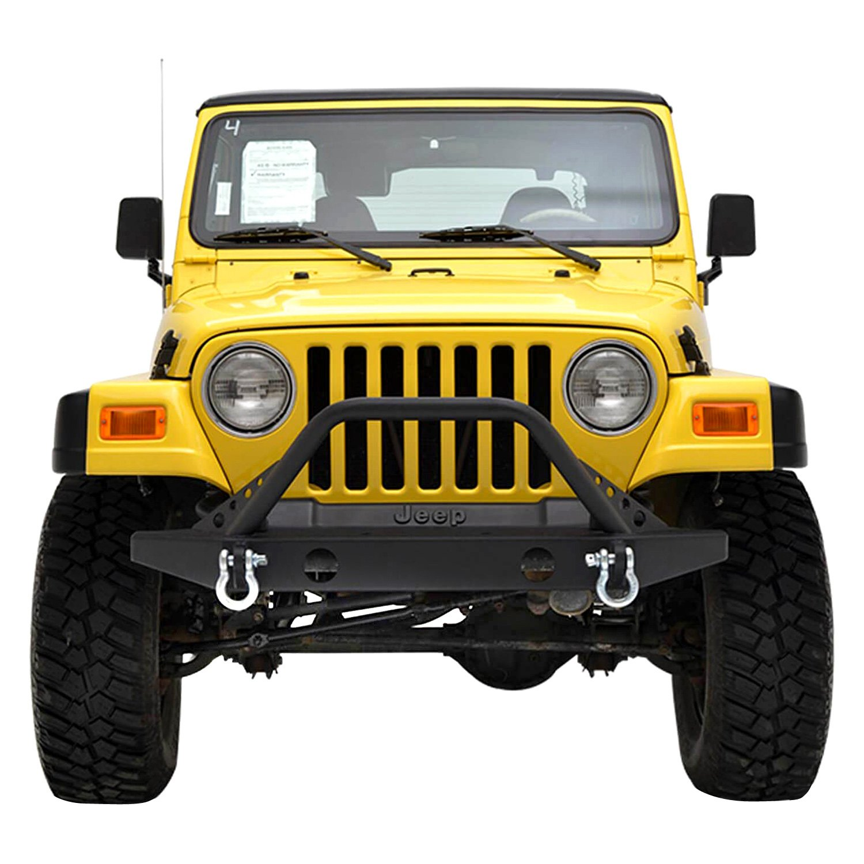 paramount jeep wrangler 1997 2006 off road rock crawler sport full width black front winch. Black Bedroom Furniture Sets. Home Design Ideas