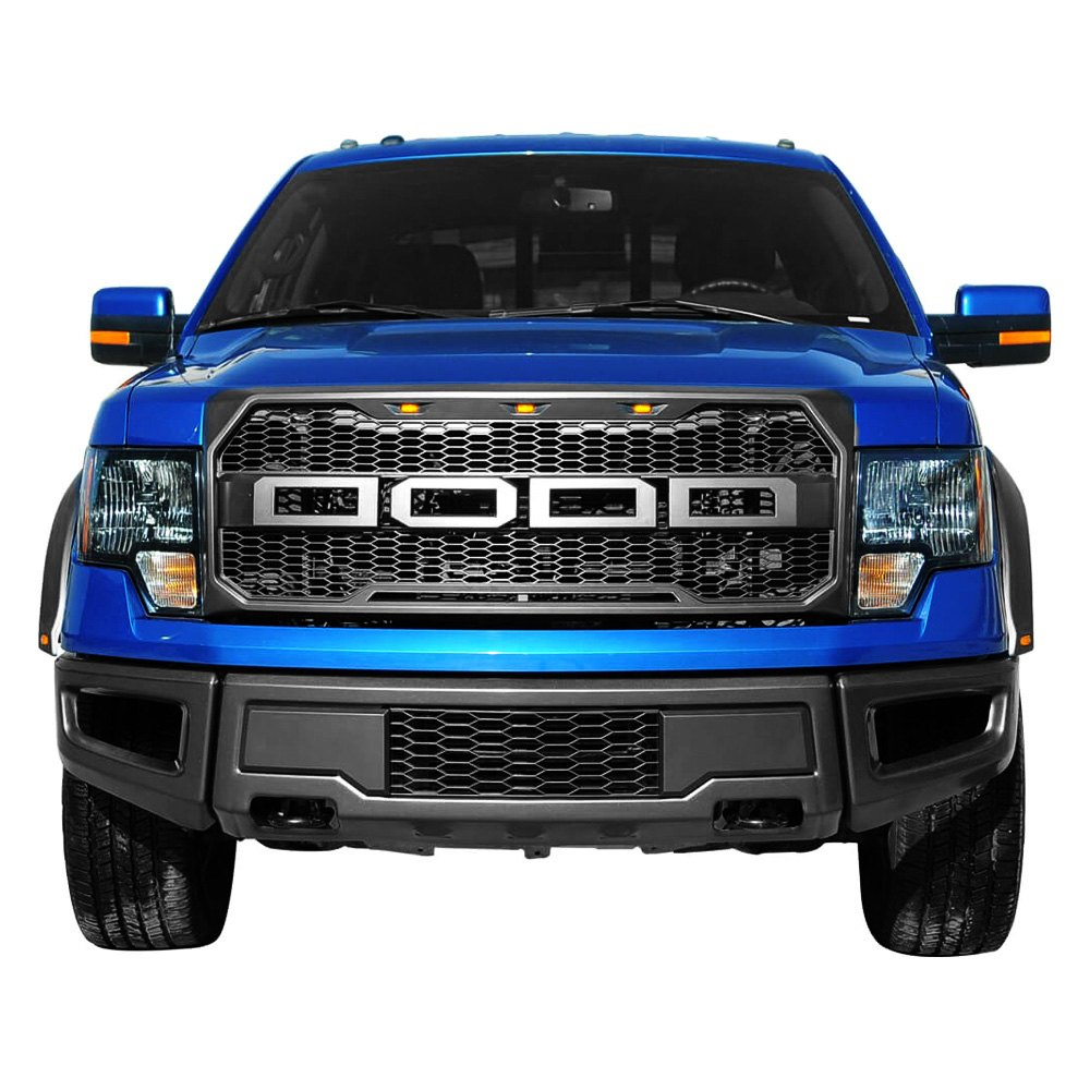 paramount ford f 150 2012 raptor style full width black. Black Bedroom Furniture Sets. Home Design Ideas