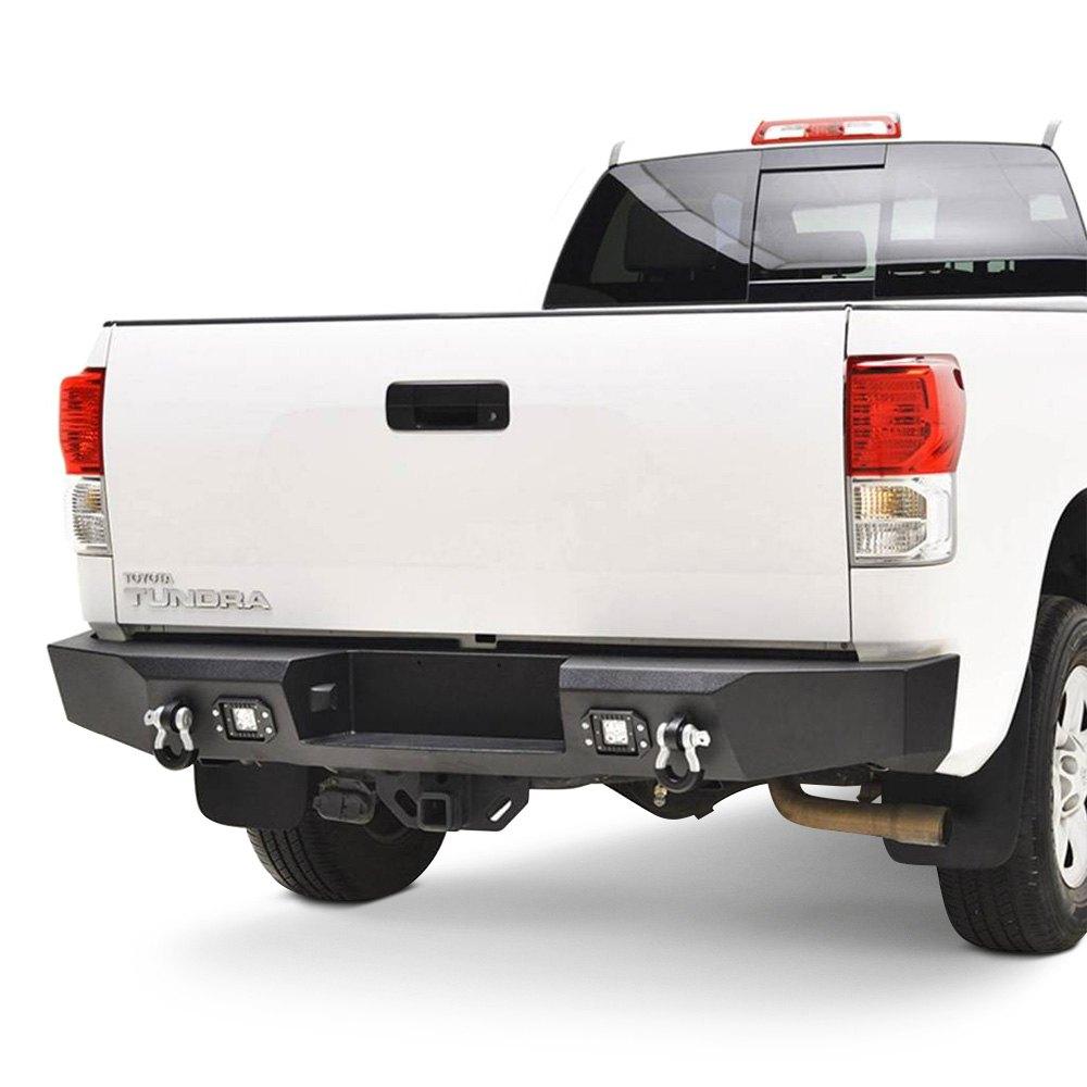 paramount toyota tundra 2010 full width black rear hd bumper. Black Bedroom Furniture Sets. Home Design Ideas