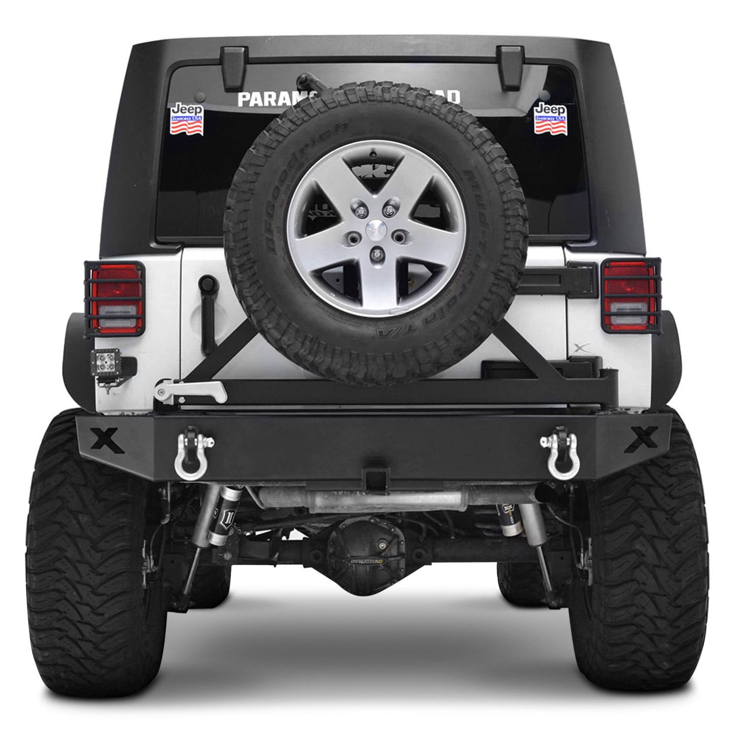 ... Automotive®   Euro Style Off Road™ Black Tail Light Guard Covers  Installed ...