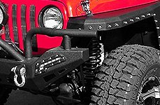 Paramount® - Off Road™ Xtreme Black Front Bumper with LED Lights
