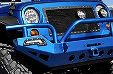 Paramount® - Winch Front Bumper with LED Lights