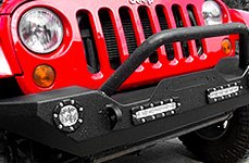 Paramount® - MDC Front Bumper on Jeep Wrangler