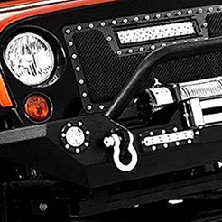 Paramount® - Off Road™ Heavy Duty Rock Crawler Front Bumper