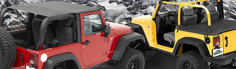 Pavement Ends Jeep Accessories and Soft Tops