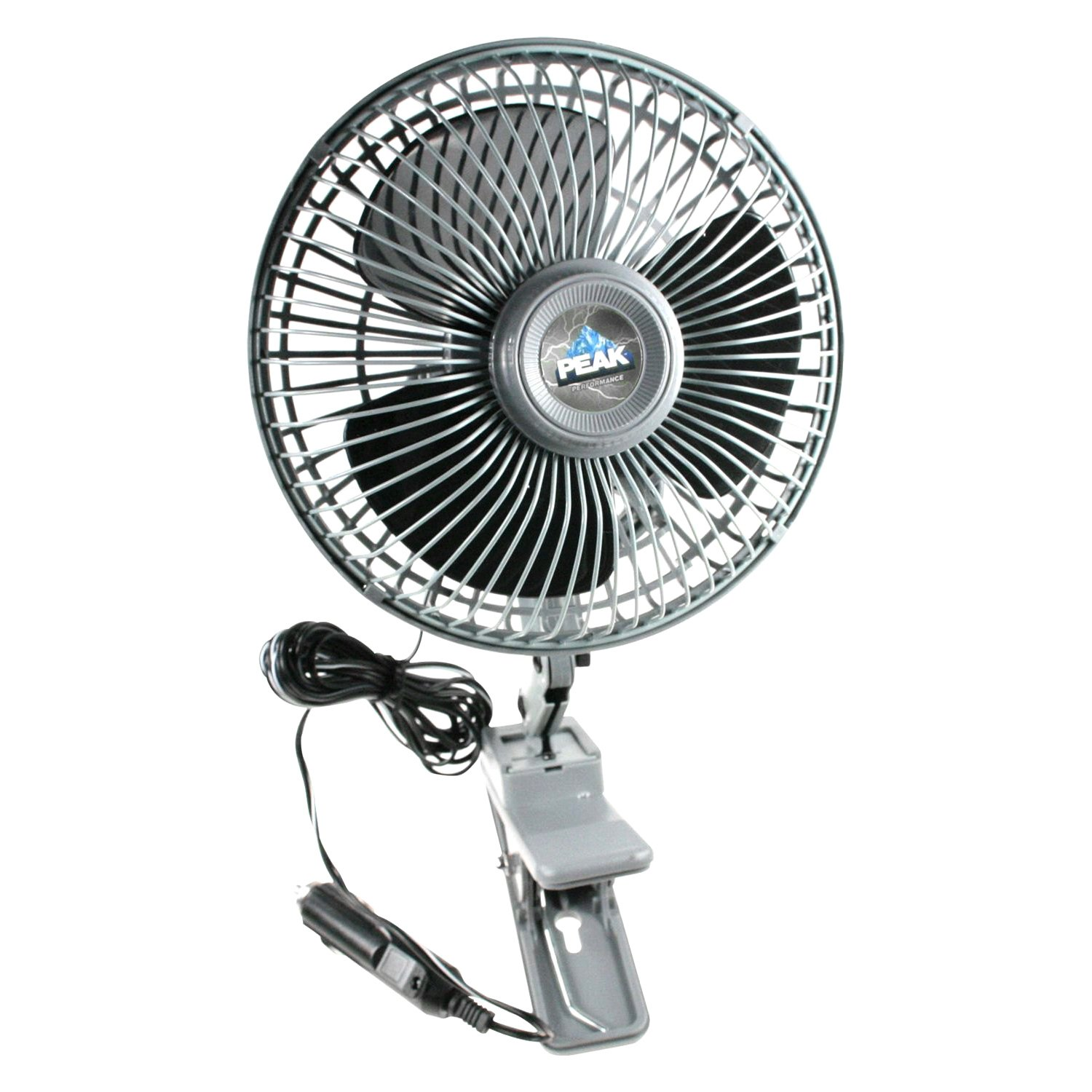 4 Inch 12 Volt Fan : Peak pkc jh v oscillating fan