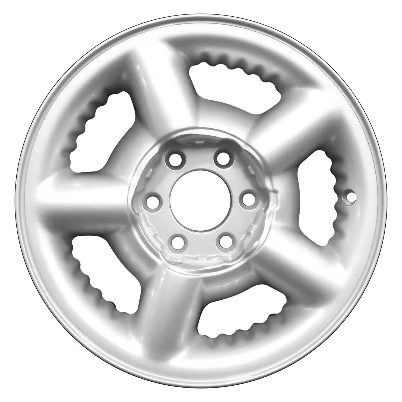 perfection wheel dodge durango 2000 15 refinished 5 spokes factory alloy wheel. Black Bedroom Furniture Sets. Home Design Ideas