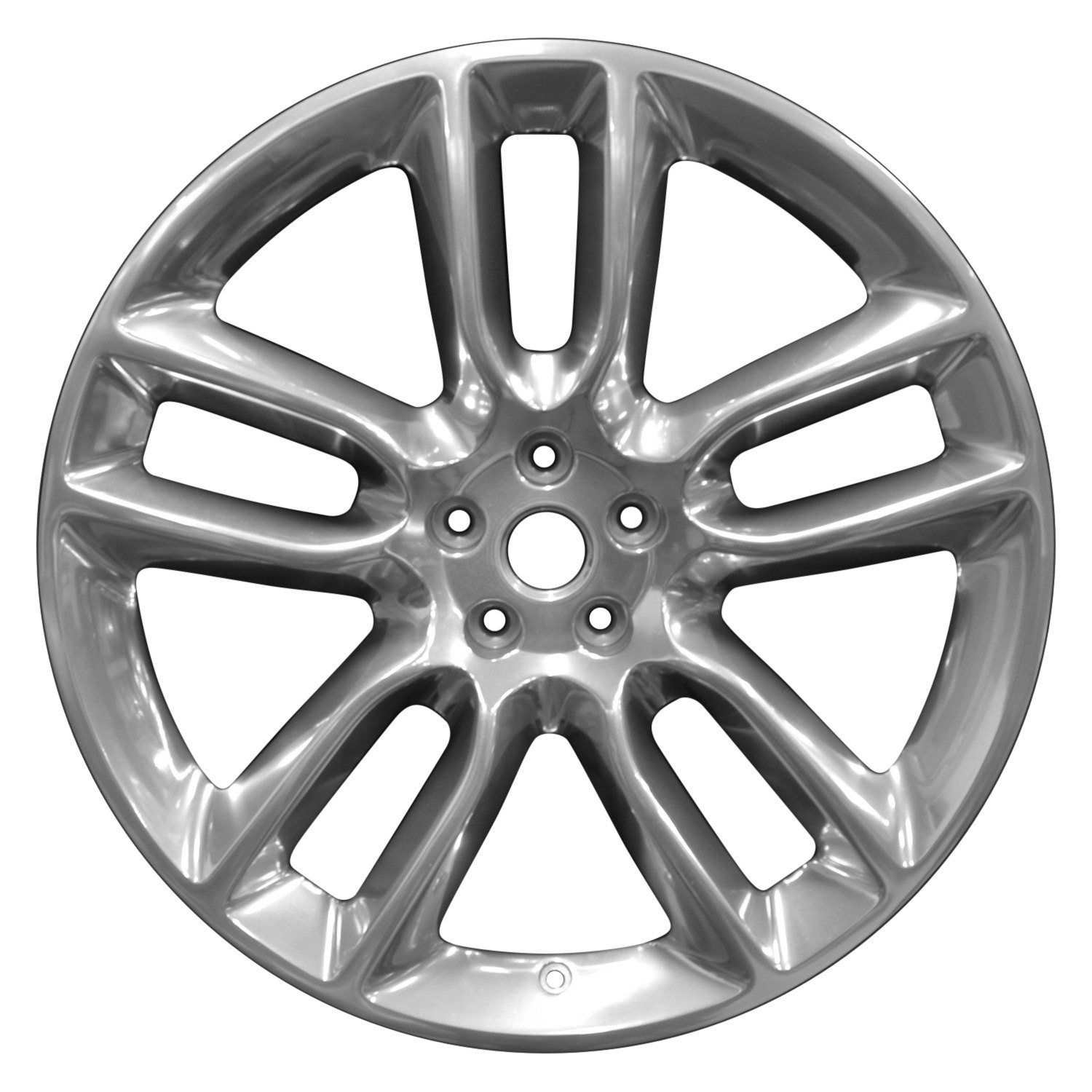 Perfection Wheel Wao  Full Pol Ford Edge   Double Spokes Full Polished Factory Alloy Wheel